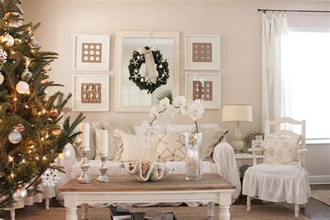 coastal xmas decor home tours chic houses decorating ideas for the holidays