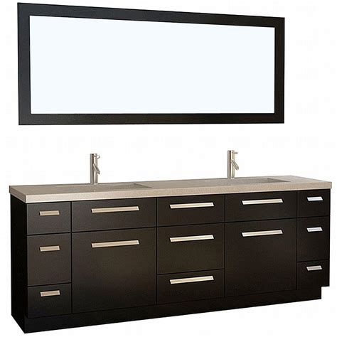 home depot design element vanity design element moscony 84 in w x 22 in d vanity in