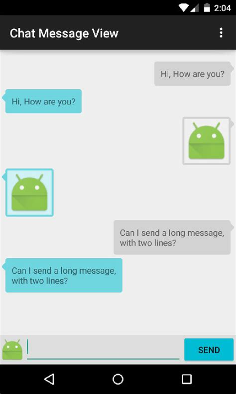 layout chat android the android arsenal views chatmessageview