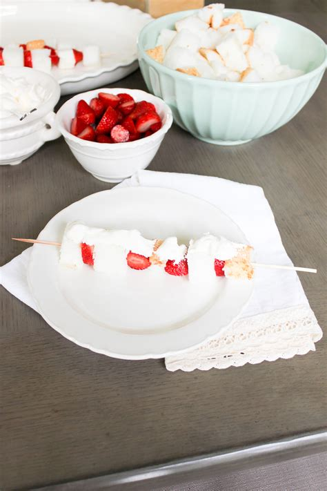 a white summer dessert for canada day