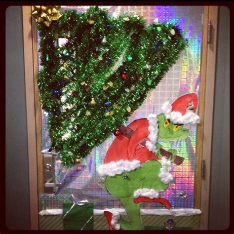 deck the doors holiday contest 1st place the grinch