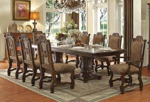How To Set A Dining Table Formal Thurmont Formal Dining Table Set