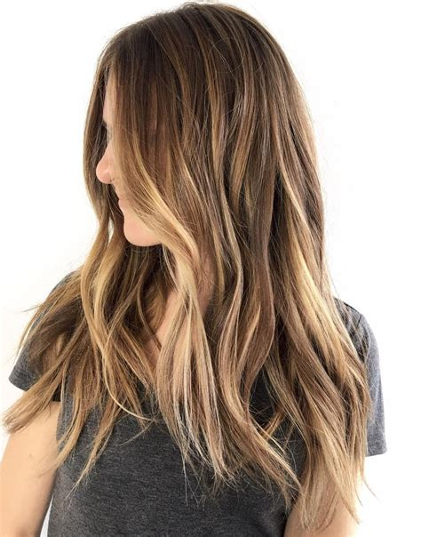 bayalage light blonde to carmel blonde 45 ideas for light brown hair with highlights and