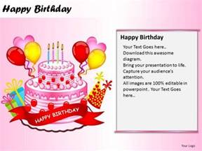 happy powerpoint templates powerpoint templates happy birthday ppt design