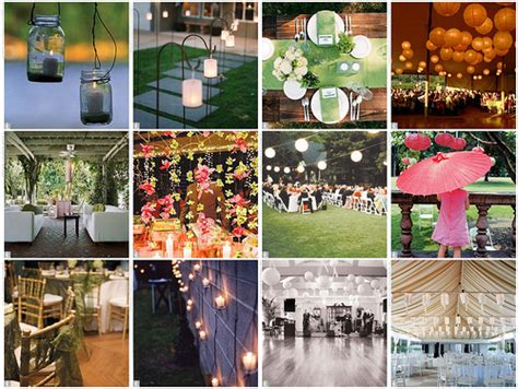 Rustic Vintage Wedding Decor Living Room Interior Designs Backyard Wedding Reception Decoration Ideas