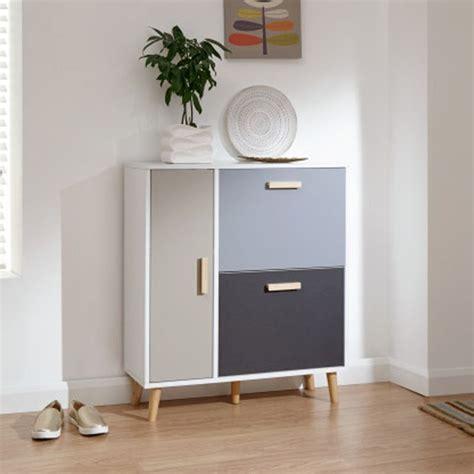 delta shoe storage white grey  door buy   qd