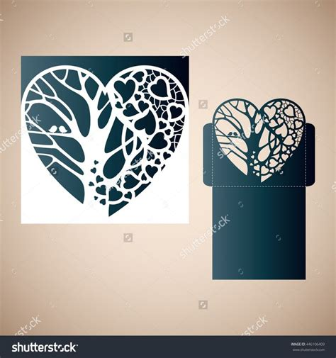 laser cut card template 71 best laser cutting images on cuttings
