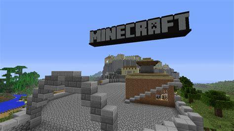 minecraft tutorial world logo minecraft derni 232 res news minecraft xbox360 edition tu12