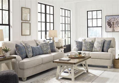 traemore linen sofa set cincinnati overstock warehouse