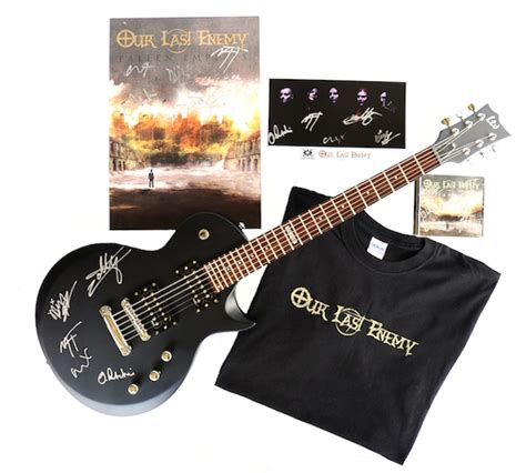 Guitar Contests And Giveaways 2014 - guitar giveaway our last enemy premiere devour the sun and prize pack contest