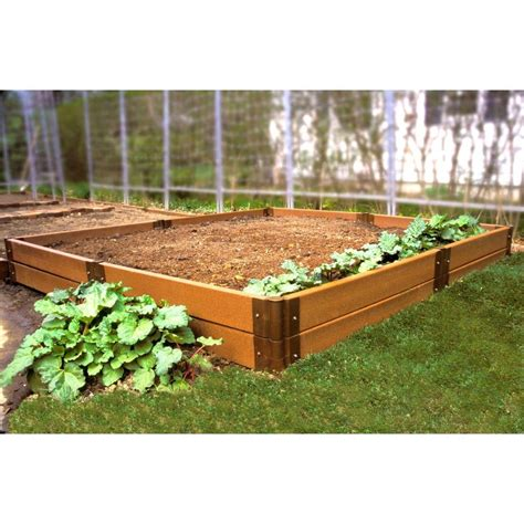 Composite Raised Garden Bed 8 X 8 X 12 Eartheasy Com Raised Garden Bed Kits For Sale