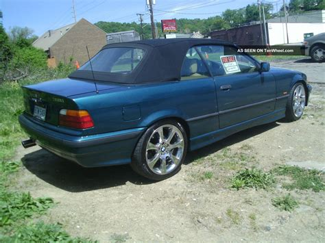 Bmw 318i Convertible by 1997 Bmw 318i Base Convertible 2 Door 1 9l