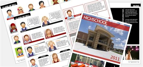 yearbook high school istudio publisher page layout