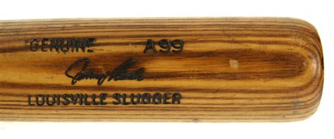 johnny bench bat lot detail 1977 4 13 77 johnny bench cincinnati reds h