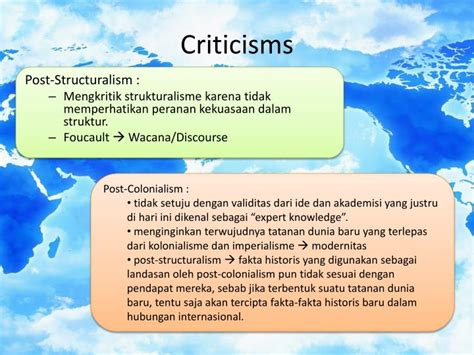 Power Knowledge Wacana Kuasa Pengetahuan ppt post structuralism post colonialism powerpoint