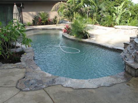 Poolside Planters by Los Angeles Pool Design Photos Burbank Studio City Pasadena