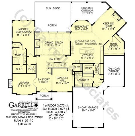 mountain floor plans mountain top lodge rustic house plan