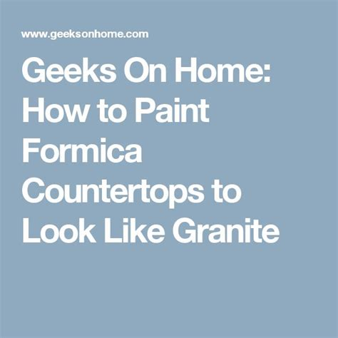 How To Paint Formica Countertops To Look Like Granite 1000 ideas about painting formica countertops on