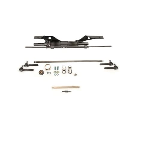 mustang rack and pinion steering conversion unisteer 8001090 01 68 70 mustang manual rack pinion