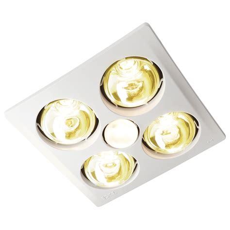 Ixl Bathroom Heater Lights Ixl Tastic Sensation 3 In 1 Bathroom Heat Fan Light Bunnings Warehouse