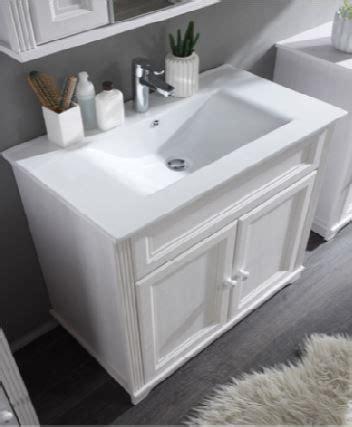 becken badezimmer badezimmer komplettset waschtisch inkl becken wei 223