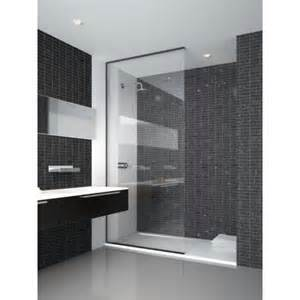 Shower Doors By Tj The Shower Lab Neon 01 Fixed Shower Screen In Bespoke Sizes Tjh Bathrooms