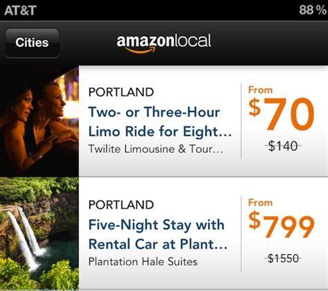 amazon local amazon releases new local deals app for ios