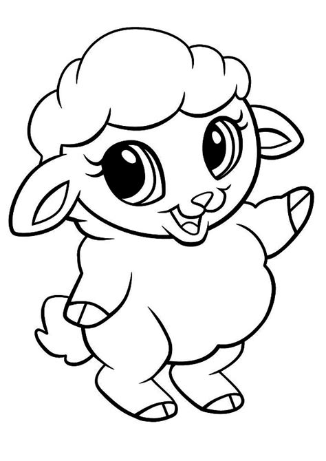 cute lamb coloring pages cute lamb coloring pages www pixshark com images