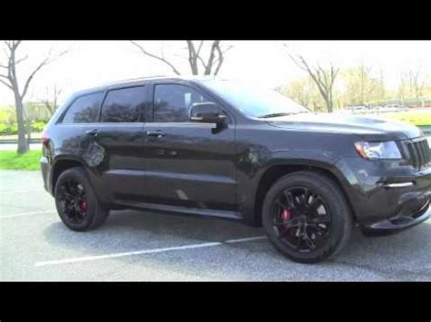 jeep grand blackout jeep grand srt8 0 60 no mufflers cai blackout
