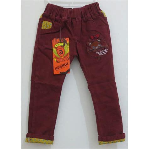 Celana Katun Pensil Ibu jual celana panjang anak import ct 8011 mb