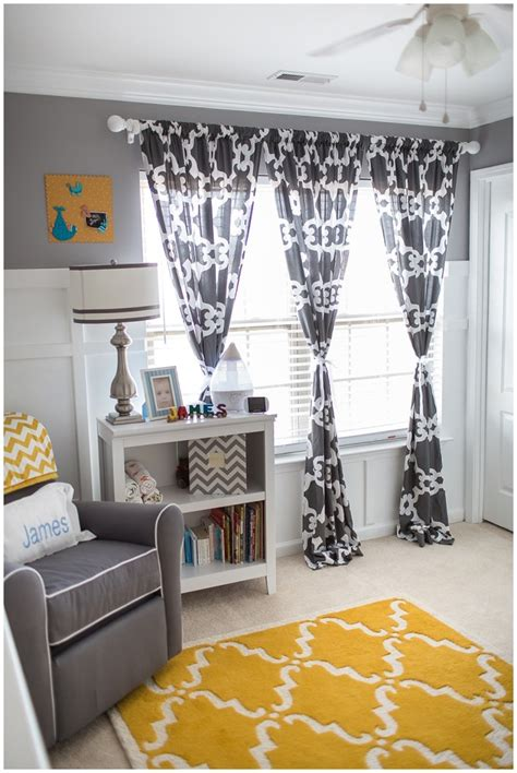 Grey Curtains For Nursery Grey Curtains Nursery Images About Home Nursery Inspiration On Nursery Interior Designs