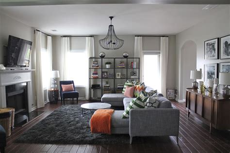 BEFORE & AFTER: MODERN FAMILY ROOM (+ MY DESIGN TIPS ... What Day Of The Week Was October 8 2012