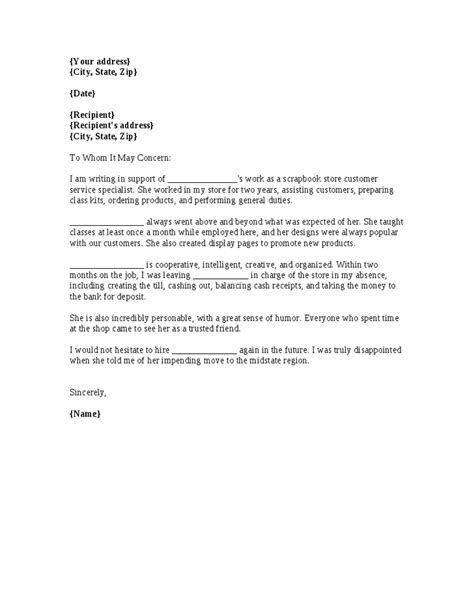 reference letter template for employee map of world work reference letter
