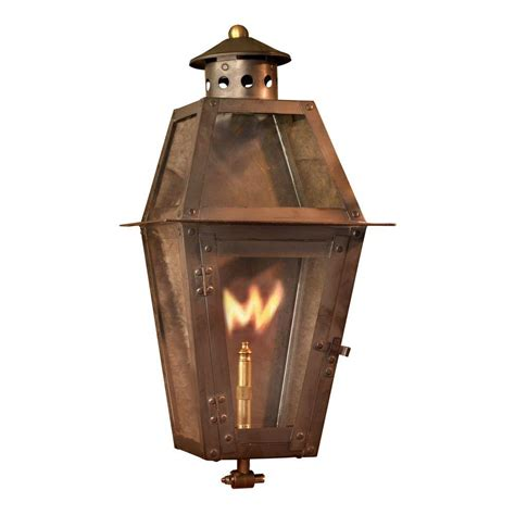 Outdoor Gas Lighting Titan Lighting Grand Isle Washed Pewter Gas Outdoor Wall Lantern Tn 7934 The Home Depot