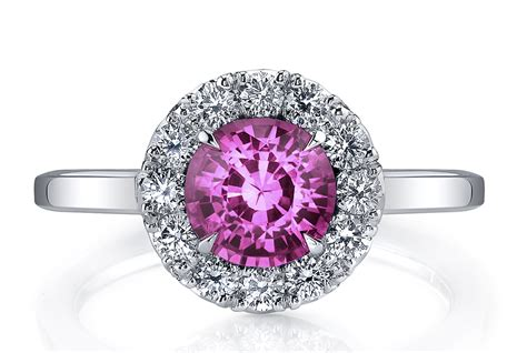 Pink Engagement Ring by Colorful Engagement Rings At Affordable Prices