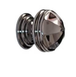 cabinet knob nickel black solid brass 1 1 4 quot dia