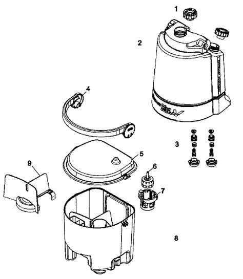 hoover floormate parts diagram f7227 hoover steamvac dual v all terrain max extract