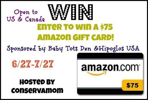 75 Amazon Gift Card - 75 amazon gift card giveaway 7 27