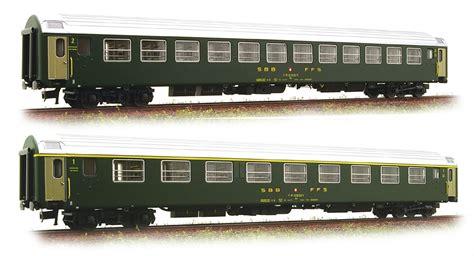 Ho Ls by Ls Models 47216 2pc Passenger Coach Set Am Bm Of The Sbb