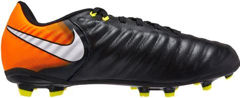 Nike Tiempo Ligera Iv Fg Black Orange nike tiempo ligera iv fg black white soccer master