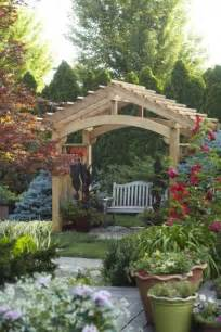 Backyard Arbor Ideas 25 Best Arbor Ideas On Garden Arbor Arbors And Small Pergola