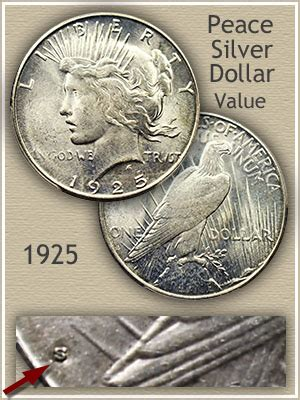 1925 silver dollar value 1925 peace silver dollar value discover their worth
