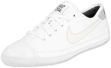 nike flash leather shoes white