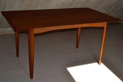 Mid Century Table Ls | danish 403 dining table by ib kofod larsen for dansk