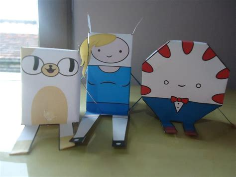 Adventure Time Paper Crafts - adventure time papercraft by miekochan59 on deviantart