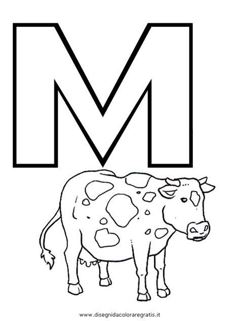foto lettere alfabeto disegno alfabeto mucca categoria alfabeto da colorare