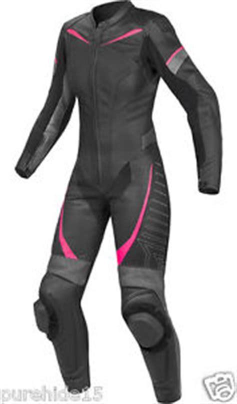 trajes de cuero para mujer damas traje de cuero rosa traje de cuero para mujer moto