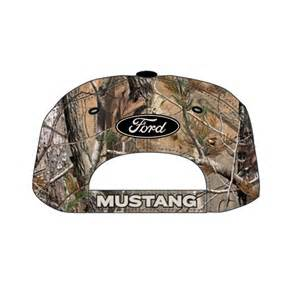 Camo Ford Hat Ford Mustang Oval Hat Camo Black Speedway World