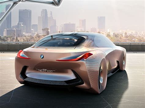 futuristic cars bmw bmw vision 100 concept futuristic car concept aims