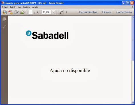 sabadell banca electronica desventuras sufrido usuario banco sabadell 161 tecnolog 237 a
